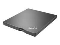 Lenovo ThinkPad UltraSlim USB DVD Burner - Lecteur de disque - DVD±RW (±R DL) / DVD-RAM - SuperSpeed USB 3.0 - externe - CRU - pour ThinkCentre M700; M800; Thinkpad 13; ThinkPad L460; P40 Yoga; T460; X1 Tablet; X1 Yoga 4XA0E97775